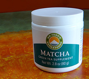 photo of matcha tea supplement